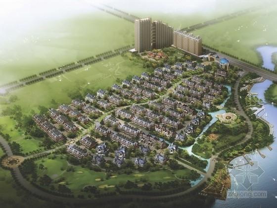 [江苏]北美风格住宅区规划及单体方案文本