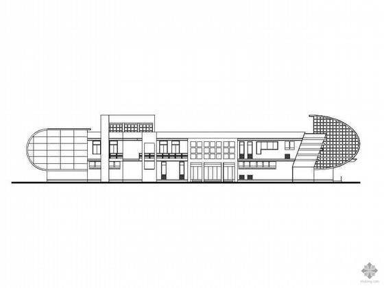 [金华]某儿童公园二层青少年活动中心建筑施工图