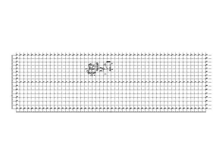 钢结构球磨车间简易棚施工图