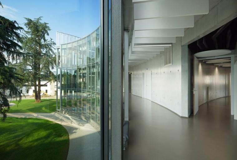 法国那栋与树共生的银色办公楼_14