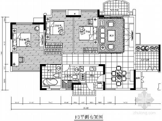 [东莞]三居室套间装修图