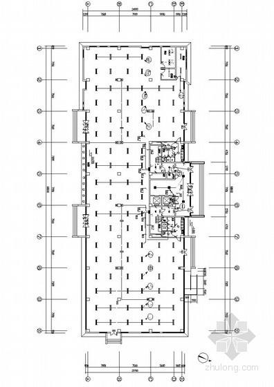 [天津]办公楼电气全套施工图(甲级院设计)