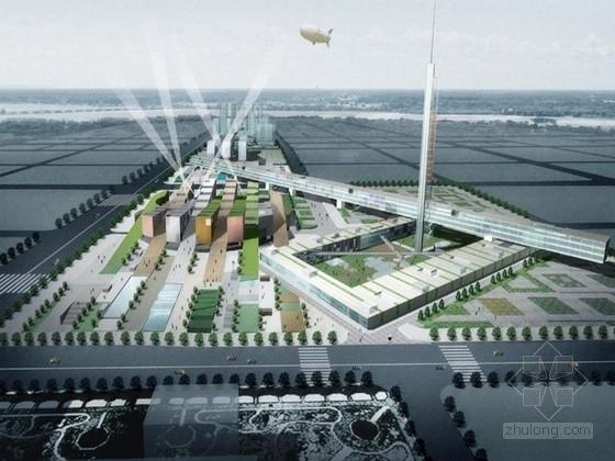 [南京]都市活力文化广场景观规划设计方案