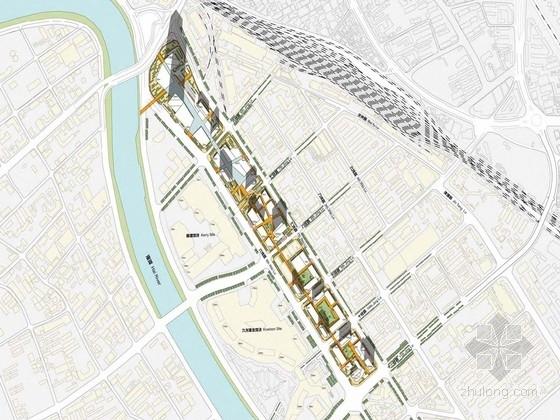 [天津]独具人性尺度和步行空间感的道路街区景观规划设计方案