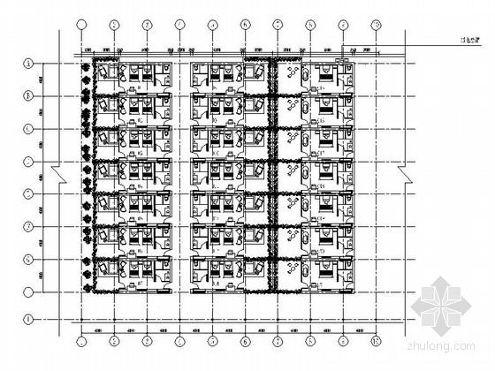 [上海]休闲农家乐新建房室内施工图(含效果图)
