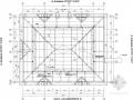 仿古坡屋顶框架结构施工图