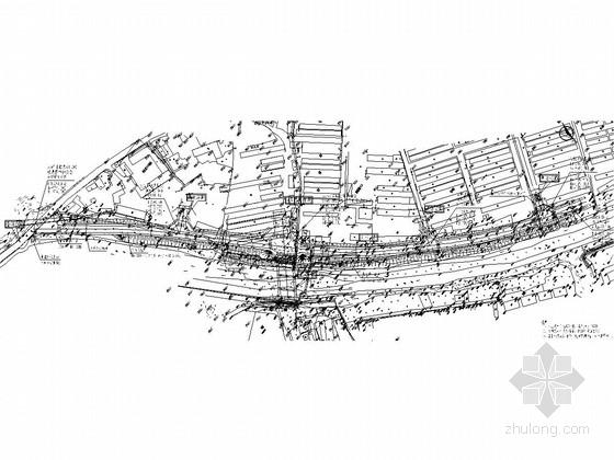 双向2车道城市支路道路工程施工图(含标志标线)