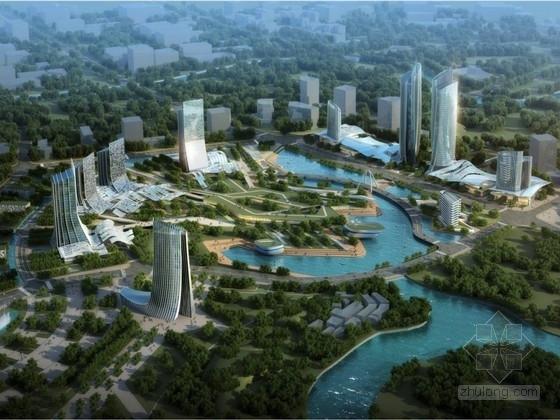 [四川]创新型科技城核心区孵化中心建筑设计方案文本
