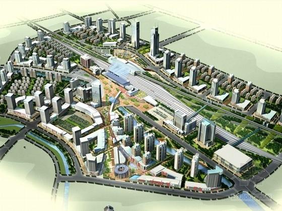 [江苏]大型交通枢纽周边地区规划设计方案文本(知名事务所 双语文本)