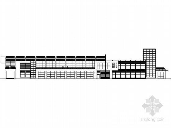 某二層會所建筑施工圖