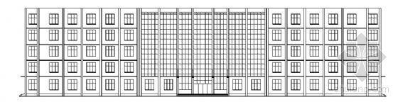 山东某大学六层综合办公楼建筑方案图