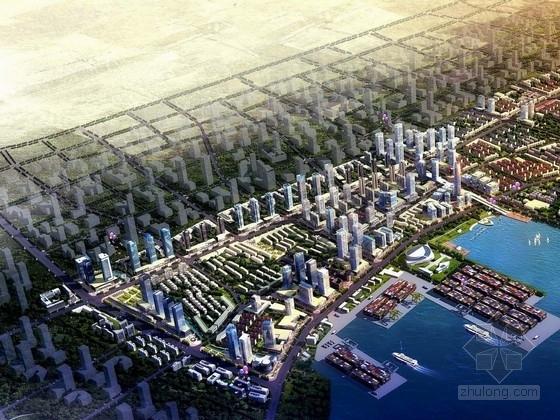 [山东]龙口开发区核心区主要街路城市规划设计