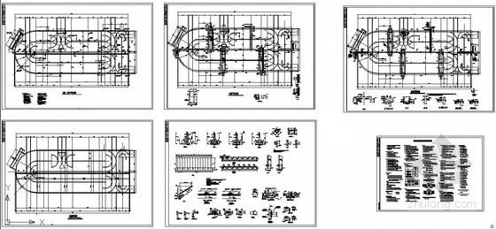 某氧化沟结构设计图