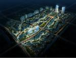 [上海]坡屋顶自由形态未来感办公楼建筑设计方案文本