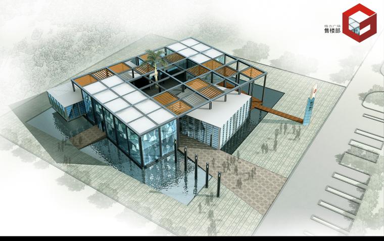 粒米设计·云建筑|格力广场售楼部