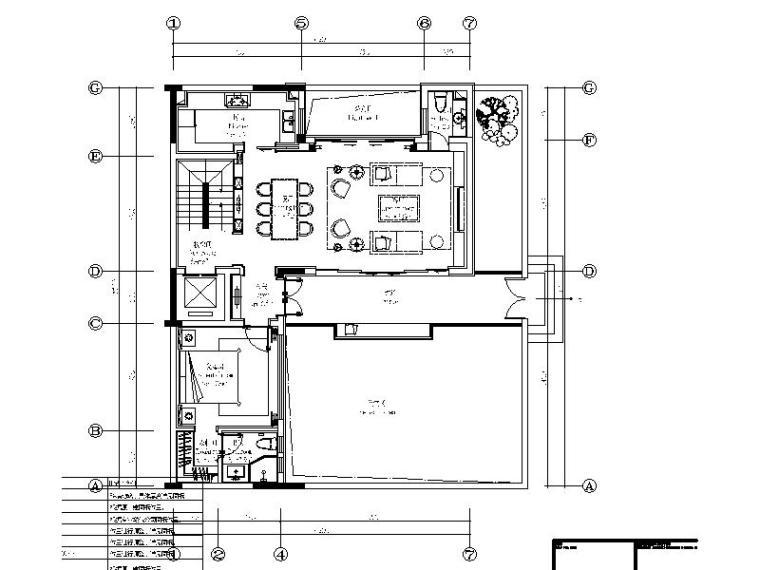 [上海]时尚高端别墅样板房设计施工图