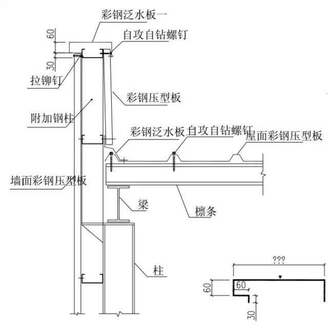 钢结构建筑构造图集[山墙]