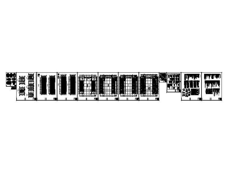 [宁夏]经典学院风格中学教学楼建筑施工图-缩略图