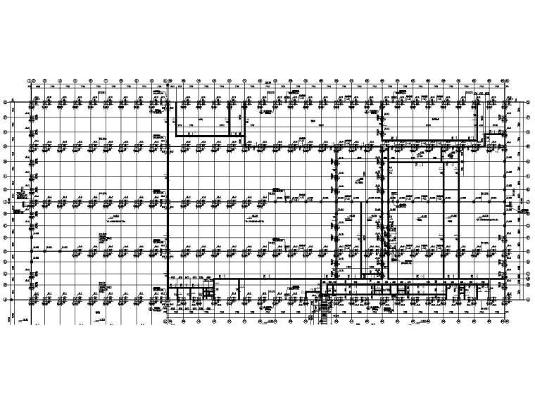 [浙江]完整框架结构工业厂房建筑结构施工图