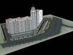 小区规划设计 SU模型
