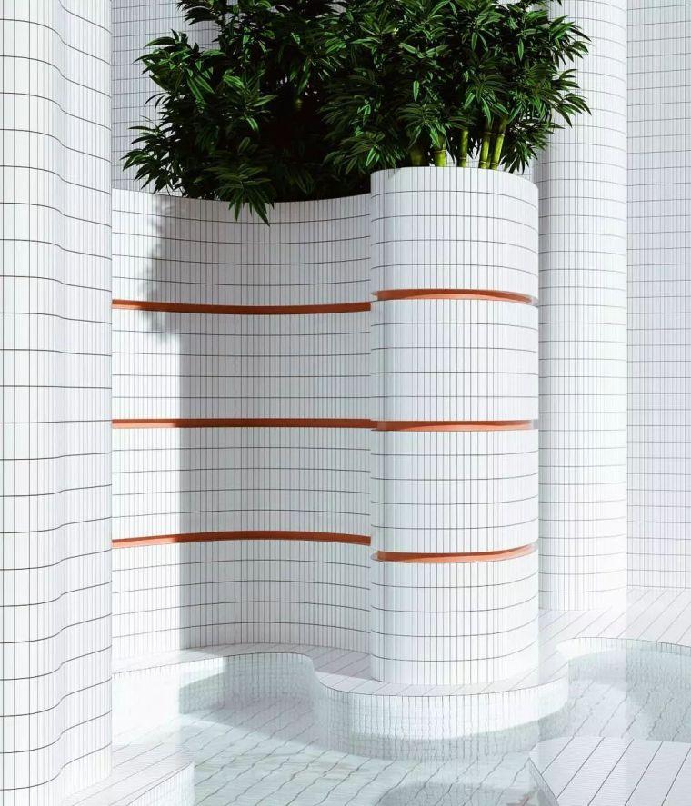 建筑设计中的点线面_13