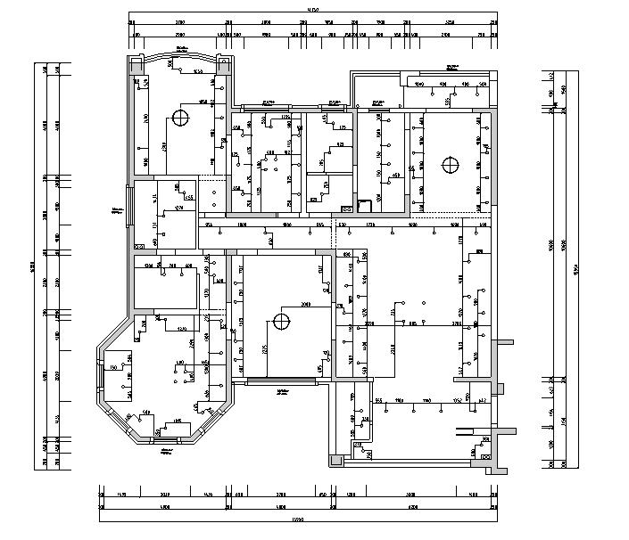 【江苏】现代简约风格样板房设计施工图(附效果图)_1
