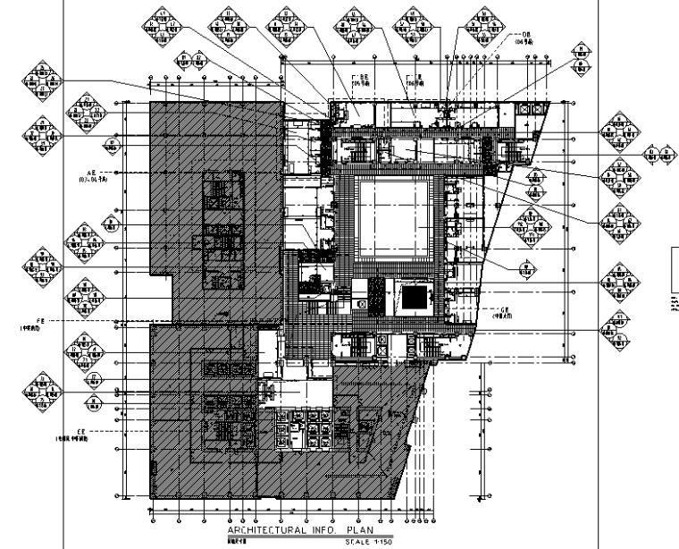 【重庆】110000平米酒店设计施工图(附效果图)_2