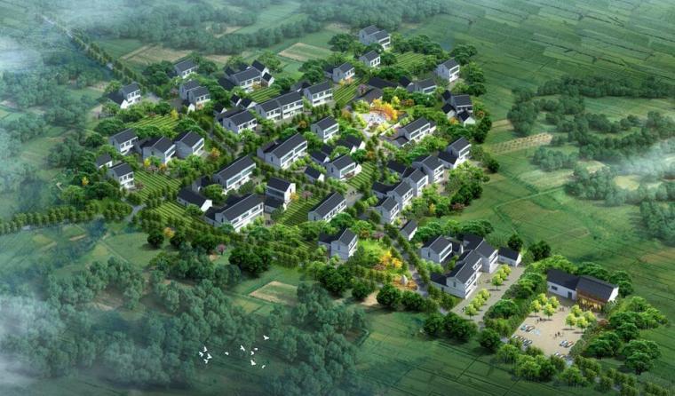 【江苏】某市湖父镇张阳村村庄规划景观设计文本PDF(142页)_1