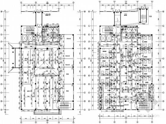 医院空调设计大院资料下载-[河南]中医院综合病房楼给排水及消防系统施工图(大院出品)