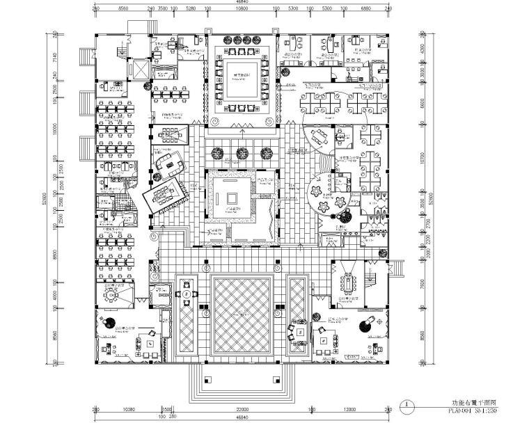 浙江方泰电器有限公司办公室施工图(附11张效果图)