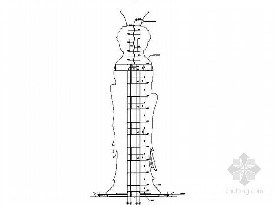[海南]文化旅游景区观音圣像建筑设计施工图