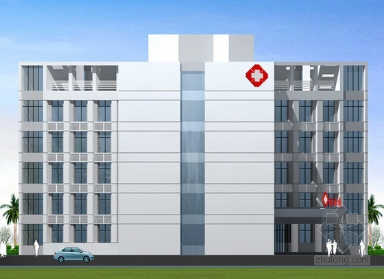[河南]医院后勤服务综合楼钢筋工程量计算实例(广联达软件实例)