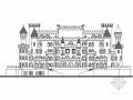 [江苏]欧式风格城堡酒店建筑施工图(含效果图)