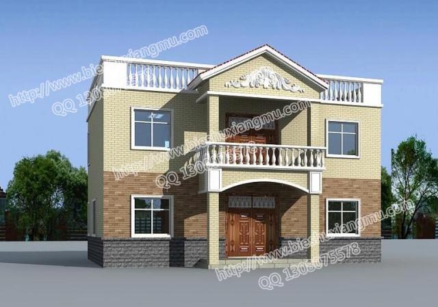 别墅 平面图 640_449图片