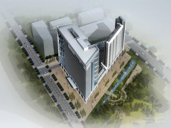 [四川]18层框架剪力墙结构医院综合大楼结构施工图