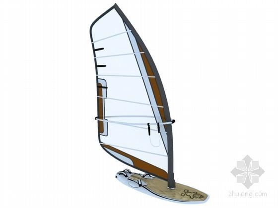 帆船3D模型下载