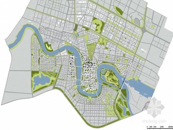 [天津]世界级滨海商业中心景观规划设计方案