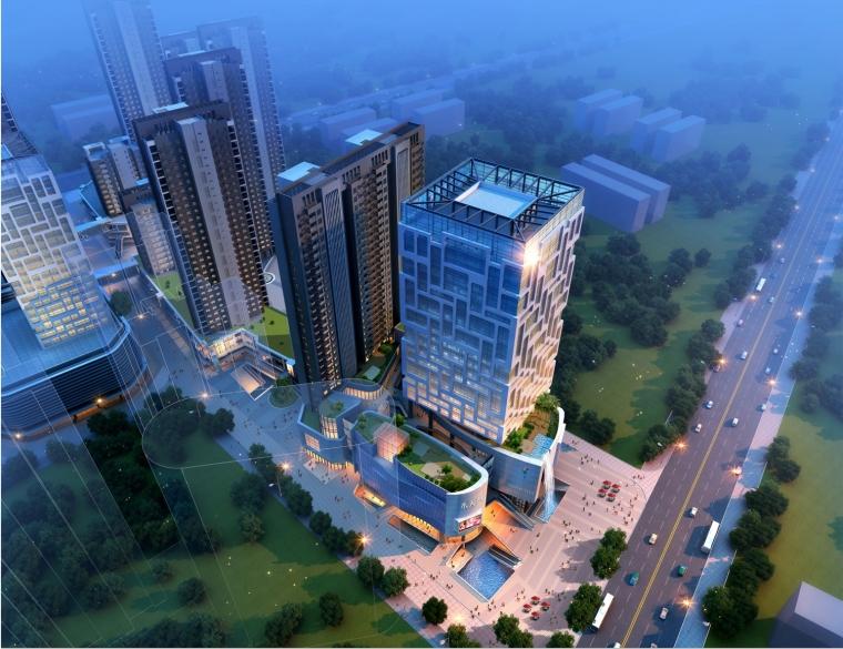 漯河世贸中心生态型商业综合体全案设计