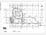 某小区多层会所建筑设计方案施工图CAD