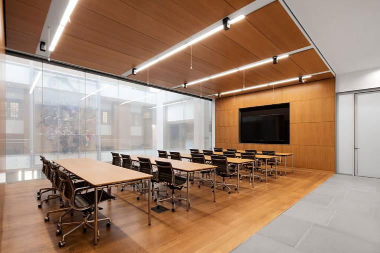 哥特式学术建筑普林斯顿大学校园内部实景图 (12)