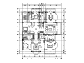 【江苏】两套样板房设计CAD施工图(含效果图)