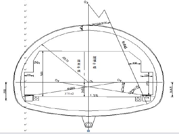 高速公路伙路隧道工程毕业设计(106页)