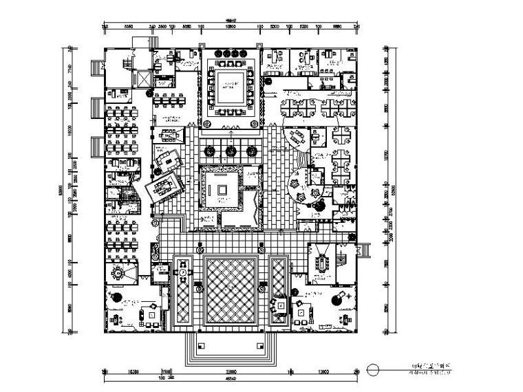 [浙江]整套办公楼设计施工图(含效果图)