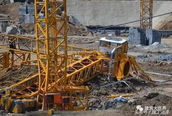 建筑工地塔吊安拆过程中事故常有发生,这些安拆要点您应知道!