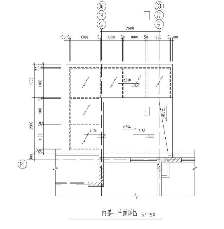 某花园式小区住宅楼板配筋图
