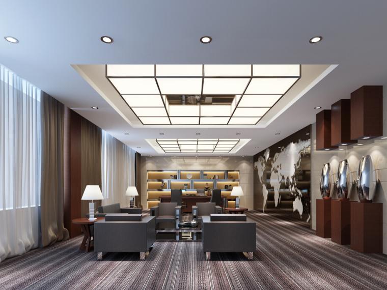 中国烟草集团办公楼设计方案效果图