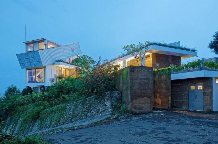 印尼龙目岛山地住宅