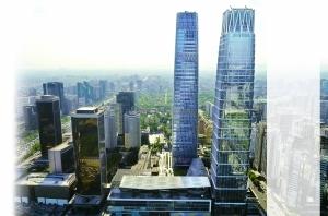 从156米到330米 国贸三期B本月竣工建筑群完成最后拼图