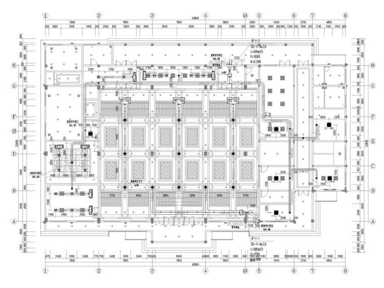 [重庆]多层文化旅游中心机电全系统设计施工图(水暖电)