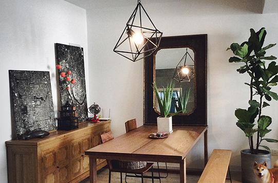 型男创意改造单身公寓
